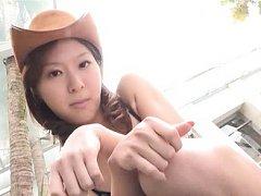 Karen Takahashi Asian is dangerously sexy cow woma...