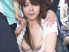 Jav Asian babe has ass cheeks spread and mouth als...