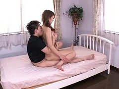 Jav Asian babe has beaver fucked from behind after...