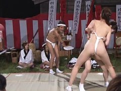 Jav Asian babe and doll with cunts in cloths wrest...