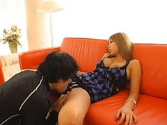 Jav Asian doll with big jugs is awaken and has fis...