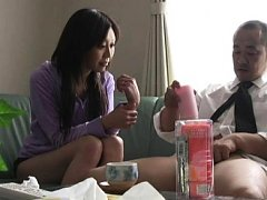 Jav Asian nurse with juicy titties rides patient c...