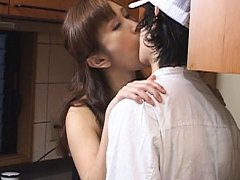 Jav Asian doll with mood for fuck kisses man and h...