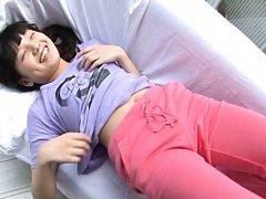 Haruna Ibuki Asian is sexy and playful indoor and...