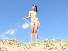 Aika Sakuragi Asian shows sexy curves in lingerie...
