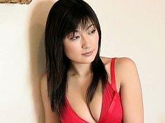Yoko Kumada Asian with big hooters is sleepy princ...