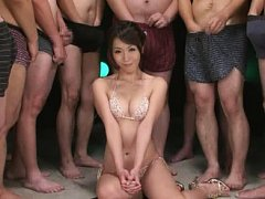 Jav Asian chick has a squirt in man face and with...