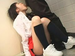 Jav Asian honey is fucked in mouth and has twat ru...