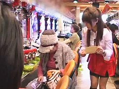 Jav Asian honey is touched on cum dumpster in a ro...