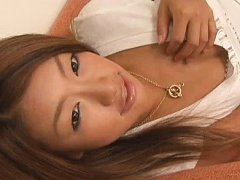 Madoka Chan Asian spoils like a cat and shows hot...