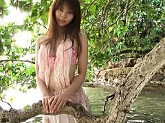 Yurina Takiguchi Asian doll in pink dress loves so...