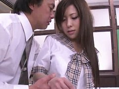 Jav Asian doll takes clothes off to ride dick even...