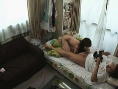 Jav Asian doll all naked is recorded on cam while...