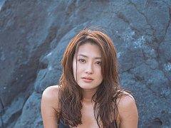Captivating asian goddess seduces in her skimpy bl...