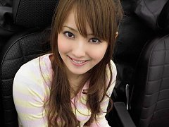Adorable asian cutie with a beautiful smile in a p...