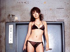 Short haired dazzling asian beauty with a stacked...