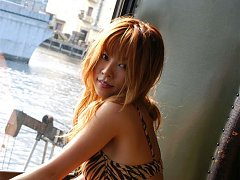 Sensual asian goddess showing off her delicious na...