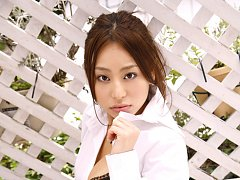 Mika Inagaki Asian in uniform is naughty on her wa...