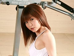 Mika Orihara Asian shows hot curves while doing so...