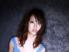 Mai Nishida Asian has big jugs and firm butt in bl...