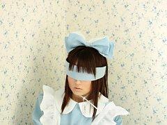 Kana Moriyama Asian looks like princess in white a...