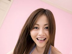 Anri Sugihara Asian with big jugs makes love with...