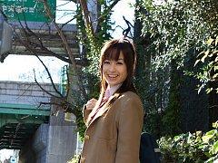 Hikari Yamaguchi Asian in uniform and coat wants t...