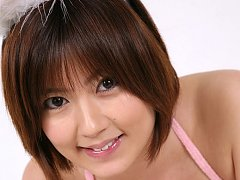 Kaori Tanaka Asian is naughty buny showing hot but...