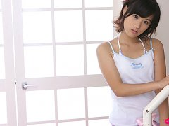 Yuzuki Hashimoto Asian in shorts is so sexy that g...
