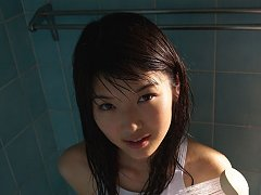 Noriko Kijima Asian spoils lustful curves with wat...