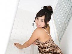 Natsuki Takahashi Asian loves exposing her nasty b...