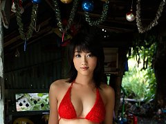 Voluptuous asian chick shows off her big boobs in...