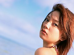 Lustful beauty Chinami Ishizaka is to die for in h...