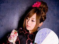 Beautiful gravure idol angel in a cute short dress...