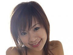 Energetic asian chick looks playful and erotic in...