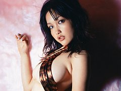 Sultry and stacked gravure idol chick with big del...