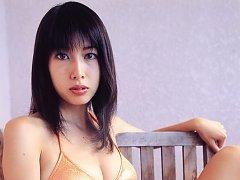 Seductive and beautiful asian goddess showing off...