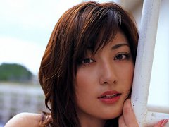 Short haired asian babe is incredibly beautiful in...