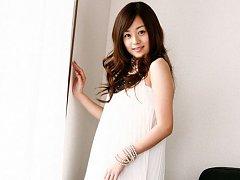 Jun Natsukawa looks adorbale in her short black an...