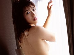 Miki Yabe poses for us in her bra and panties with...