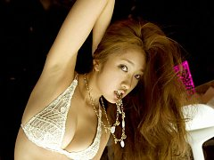 Incredibly sexy and beautiful asian idol posing in...