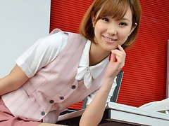 Hot Ichika Nishimura is sweet office babe that lov...