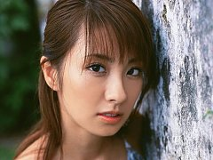 Petite gravure idol babe with soft plumo boobs in...