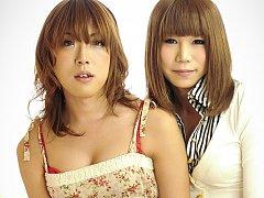Ran Mizumoto and Koyuki Kase