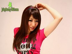 Perfect tits Koyuki Hara loves leather and vinyl a...