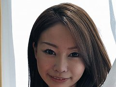 Japanese cougar Honoka strips suit and shows hairl...