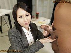 Busty Big Boobs Idol Yuuna gives personal sextoy c...