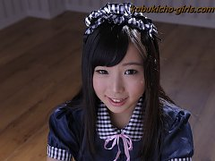Sexy sweet maid Sayaka Takahashi has some sticky l...