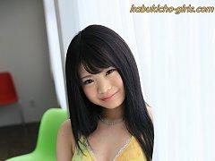 Hot Japanese teen porn model Moka Minaduki in biki...