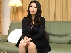 Japanese AV Model undresses office outfit and play...